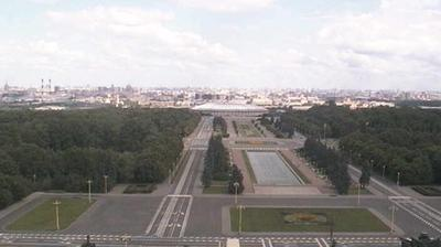 Vue webcam de jour à partir de Moscow: Moscow State University