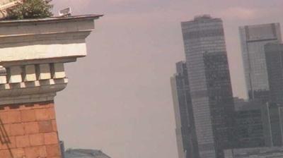 Vista de cámara web de luz diurna desde Moscow: Moscow State University