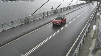 Vue webcam de jour à partir de Korsholm: Tie 724 Raippaluoto − Vaasaan