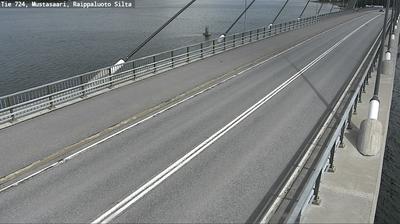 Daylight webcam view from Korsholm: Tie 724 Raippaluoto − Vaasaan