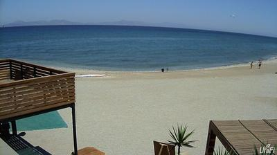 Daylight webcam view from Theologòs: Surf & Kite Theologos