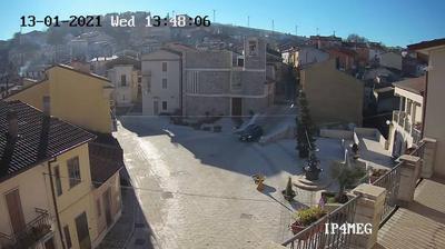 Vista actual o última desde Montefalcone di Val Fortore