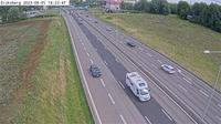 Eriksberg: Kameran är placerad på E/E Södertäljevägen söder om trafikplats Hallunda och är riktad mot Stockholm