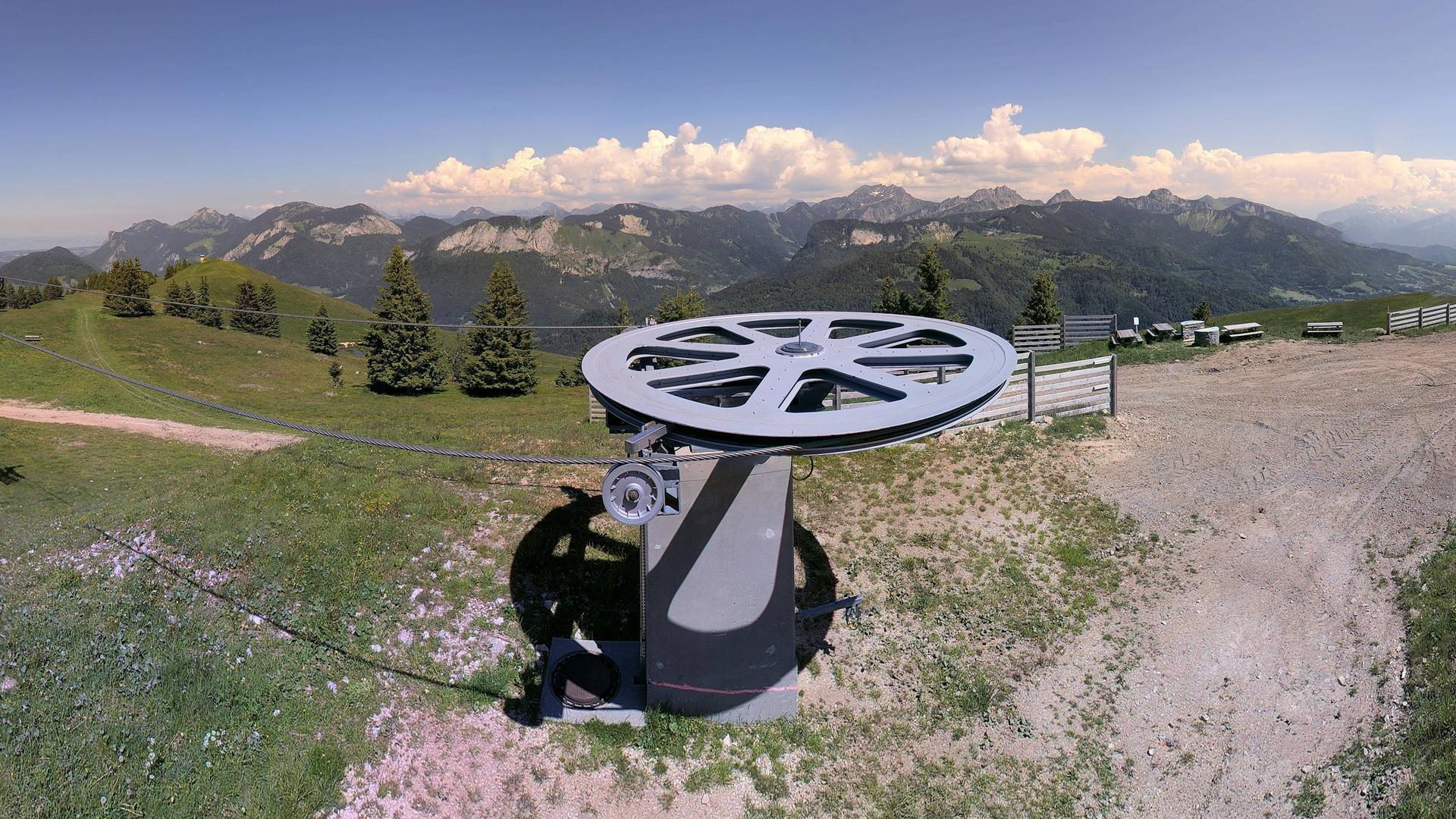 Webcam Montagne d'Hirmente: Le Tremplin Hirmentaz