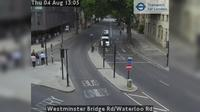 London: Westminster Bridge Rd/Waterloo Rd - Overdag
