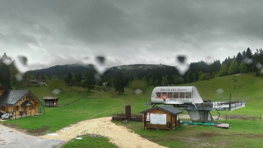 Webcam Les Rousses: Station de ski des Rousses - massif d