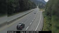 Squamish › South: , Hwy , about km south of - looking south - El día