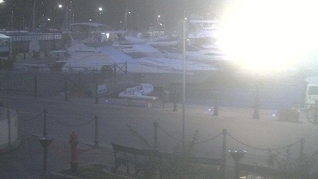 am Hafen von Porto Azzurro