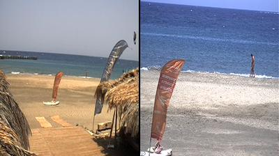 Daylight webcam view from Makadi Bay: ProCenter Tommy Friedl − Hughada − Jasmin Village