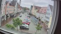 Aichach: Stadtplatz - Overdag