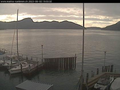Beckenried: Bootshafen Rütenen in