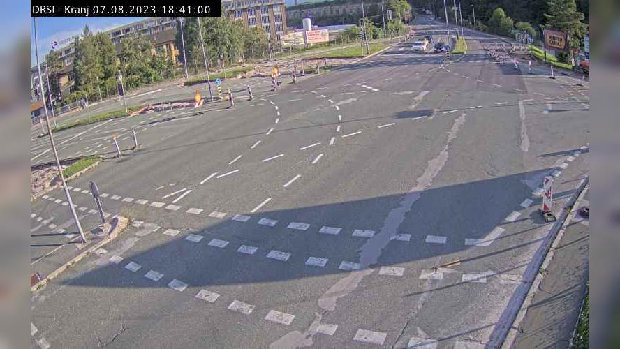 Webcam Kranj: R2-412 − Ljubljanska cesta
