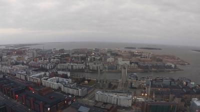 Current or last view from Ruoholahti: Helsinki − Jätkäsaari