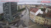 Pardubice: Dům služeb - El día