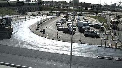 Tageslicht webcam ansicht von Smeltė: Naujoji perkėla (kasos)