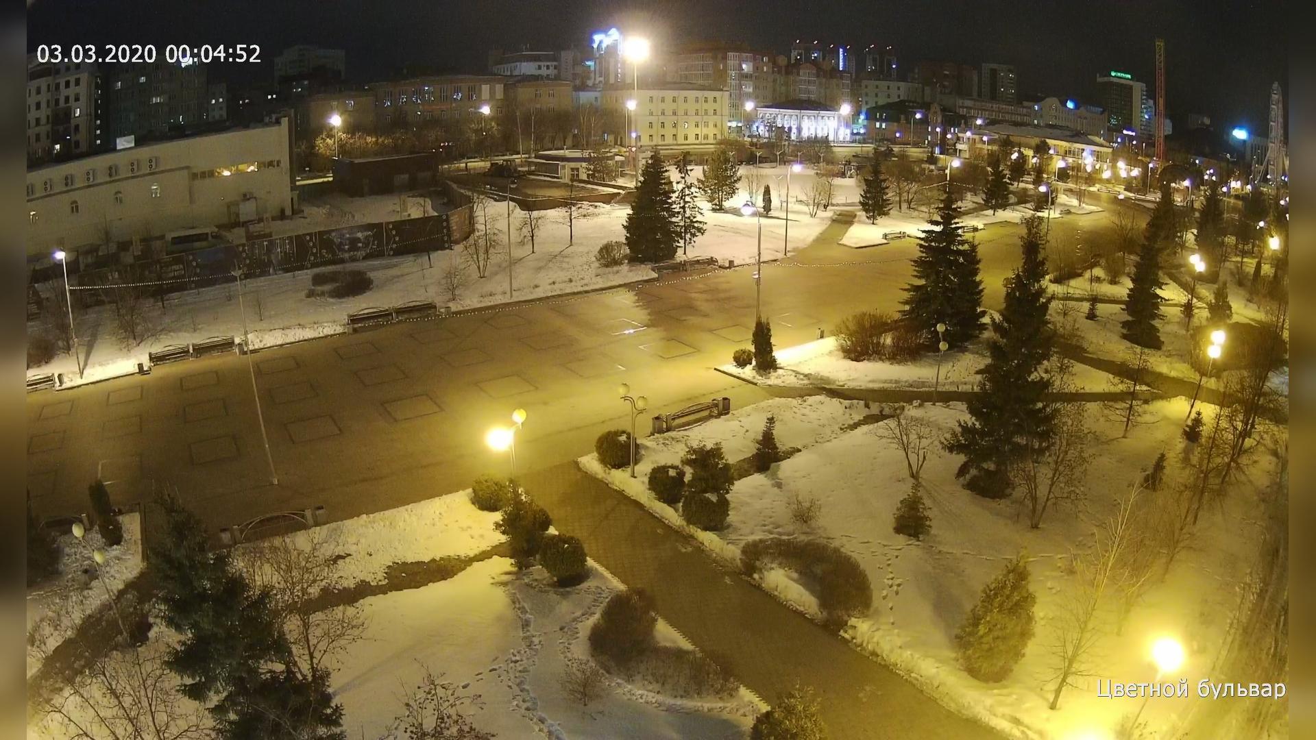Webkamera Tyumen: Цветной бульвар