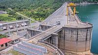 Thong Pha Phum: Thaiföld - Wachiralongkorn Dam Hydro Power Plant - Overdag
