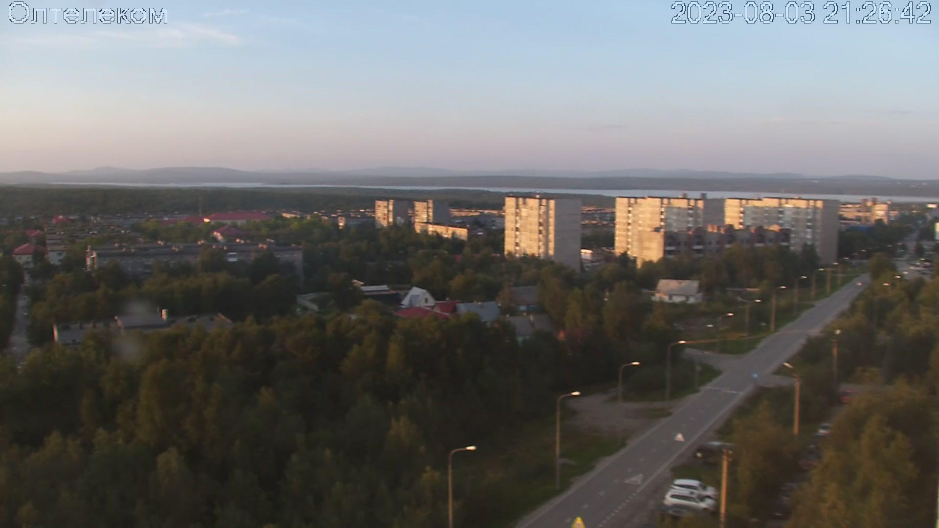 Webkamera Olenegorsk: Молодёжный бульвар