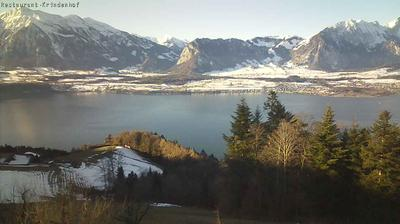 Webcam Ringoldswil › South-West: Lake Thun