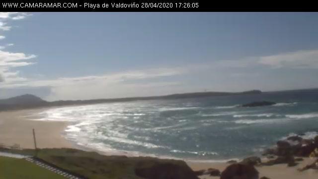Webcam Valdoviño: Playa de − hd-str