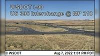 Ritzville › West: I- at MP : US  Interchange - Day time
