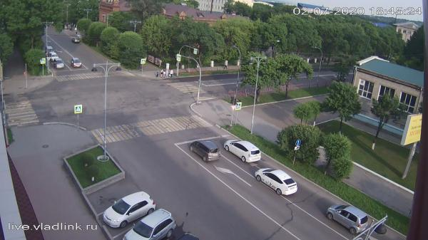 Webkamera Ussuriysk: Некрасова − Чичерина