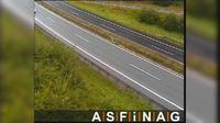 Schaffern: A, bei Anschlussstelle - Blickrichtung Wien - Km , - Overdag