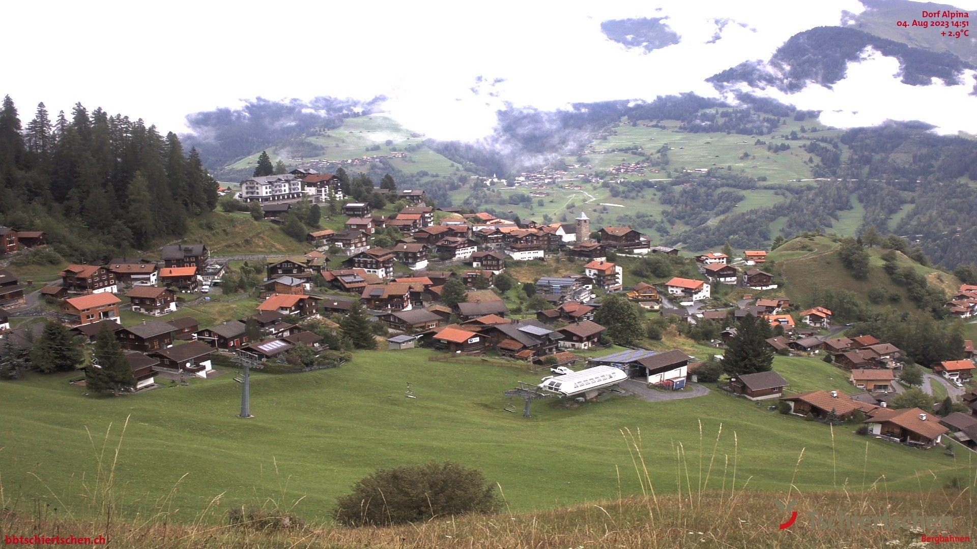 Tschiertschen: Dorf Talstation