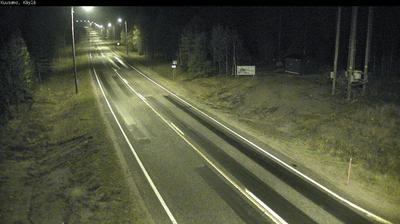 Webcam Kuusamo: Tie 950 − Käylä − Kuusamoon