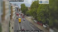 London: A Clapham Road/Mayflower Road - El día