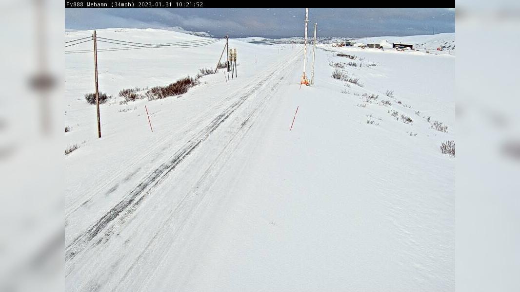 Webcam Mehamn: F888 − Retning mot