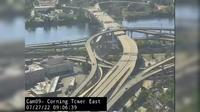 Albany › East: I-, US /US , South Mall Expressway from east side of the Corning Tower - Actuelle