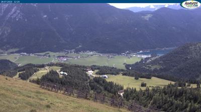 Vue webcam de jour à partir de Achenkirch: Achensee