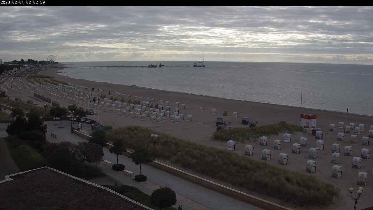 Webcam Grömitz: Gesamter Strand