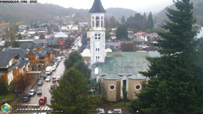 Tageslicht webcam ansicht von San Martín de los Andes: Patagonia Agentina desde la Torre Municipal