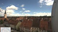Hufingen: Stadtmitte (Rathausplatz) - Overdag