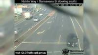 Caloundra: Currimundi - Nicklin Way - Gannawarra Street (looking south) - El día
