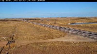 Webcam Ludlow: US-85 near − SD (MM 150.1)