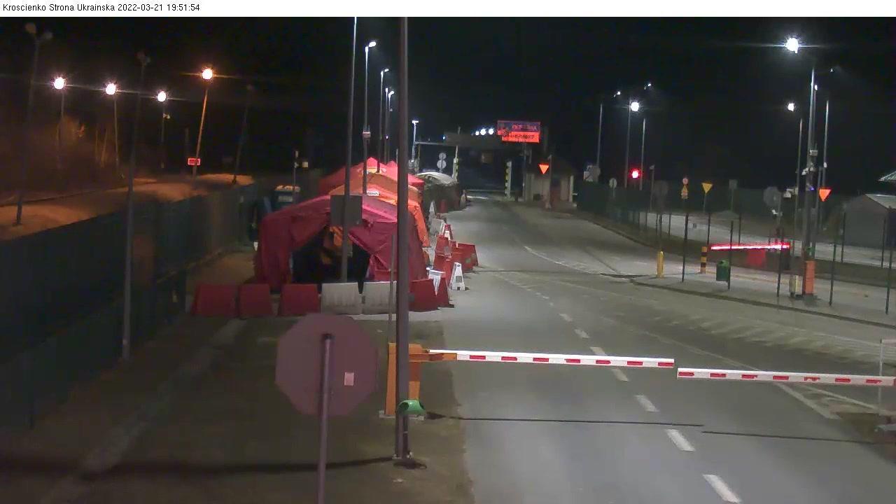 Webcam Krościenko: Przejście graniczne Krościenko - Smoln