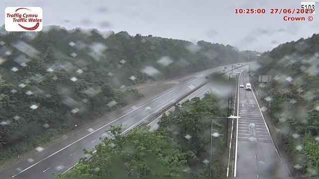 Webkamera Penllergaer: M4 eastbound at junction 47