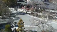 Last daylight view from Minobu: Minobusankuonji (身延山久遠寺)