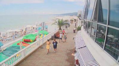 Веб-камера на набережной в Лазаревском