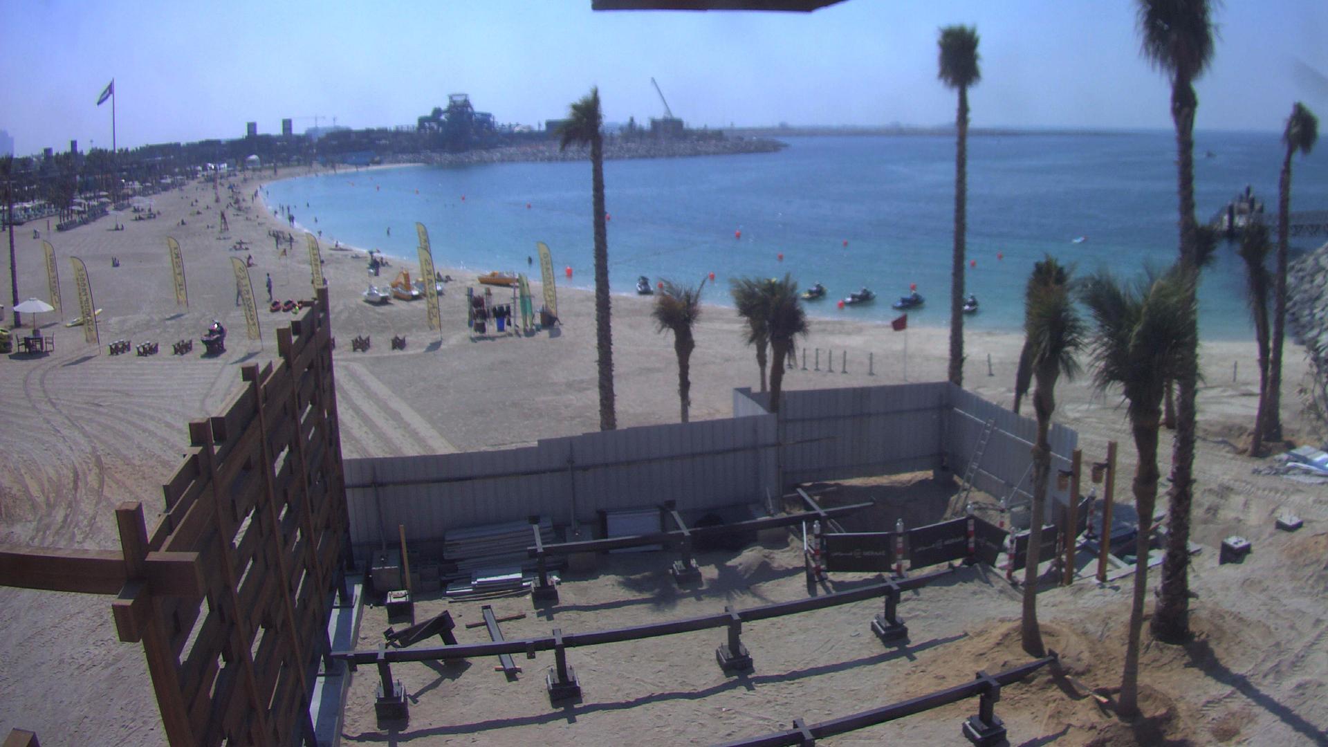 Webcam Dubai: Jumeirah Open Beach (North)