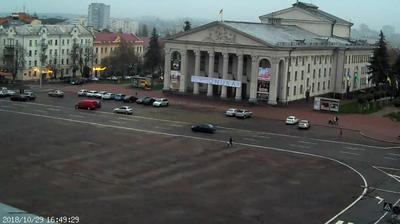 Webcam Chernihiv › East: оперный театр