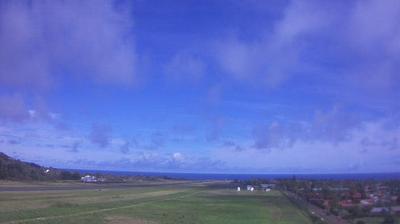 Vista de cámara web de luz diurna desde Easter Island