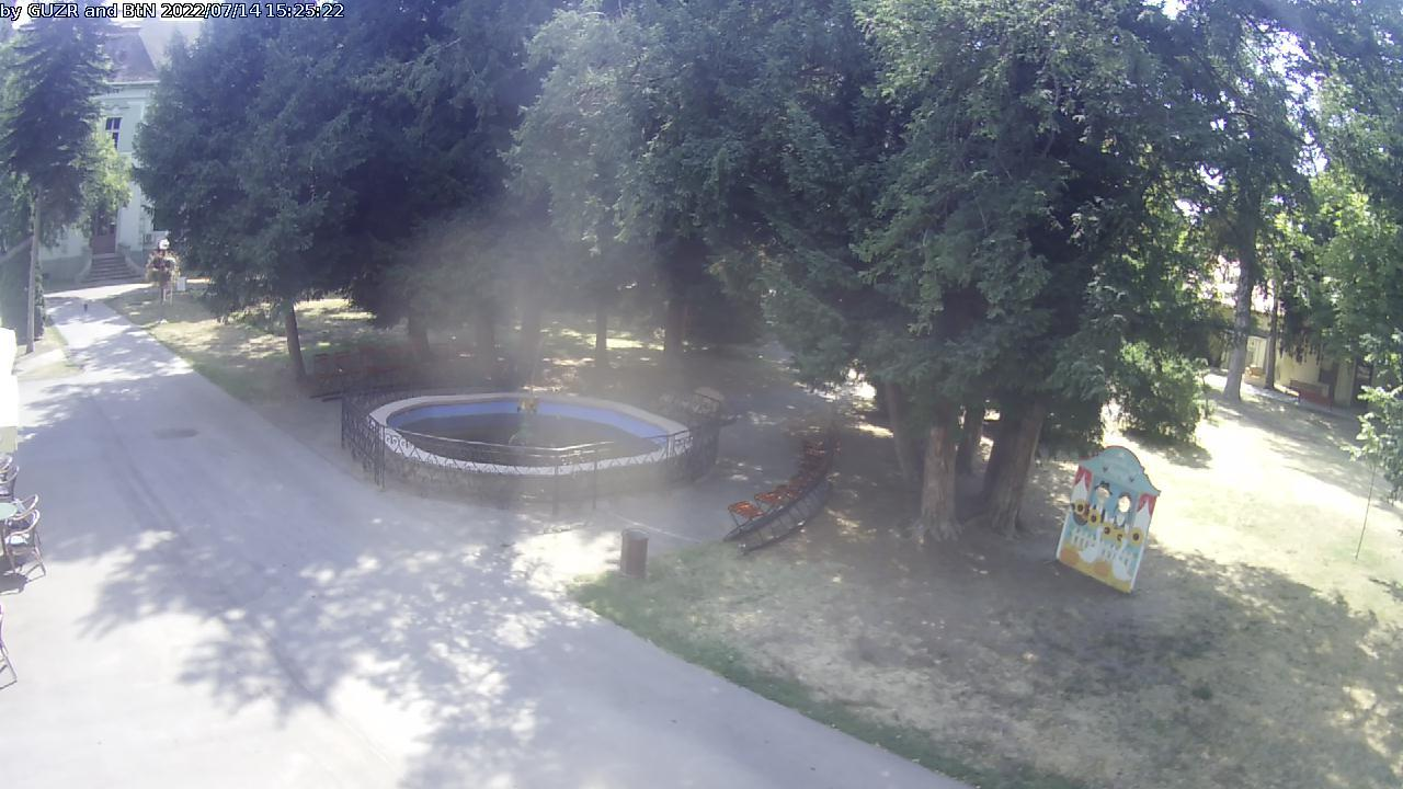 Webcam Zrenjanin: City central park
