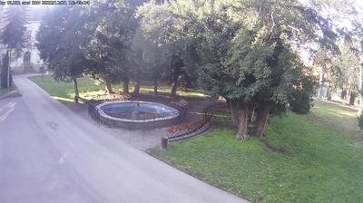 Vue webcam de jour à partir de Zrenjanin: City central park