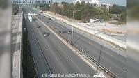 Lakeview: QEW between Highway  and Cawthra Road - Day time