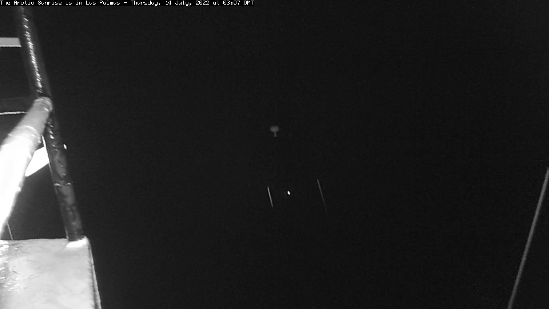 Webcam Bombilia House: Greenpeace, The Arctic Sunrise