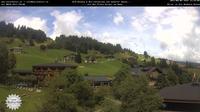 Dernière vue de jour à partir de Hirschegg: Kleinwalesertal − Naturhotel
